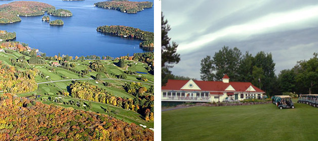 Scenic view of the Muskoka Lakes Golf & Country Club